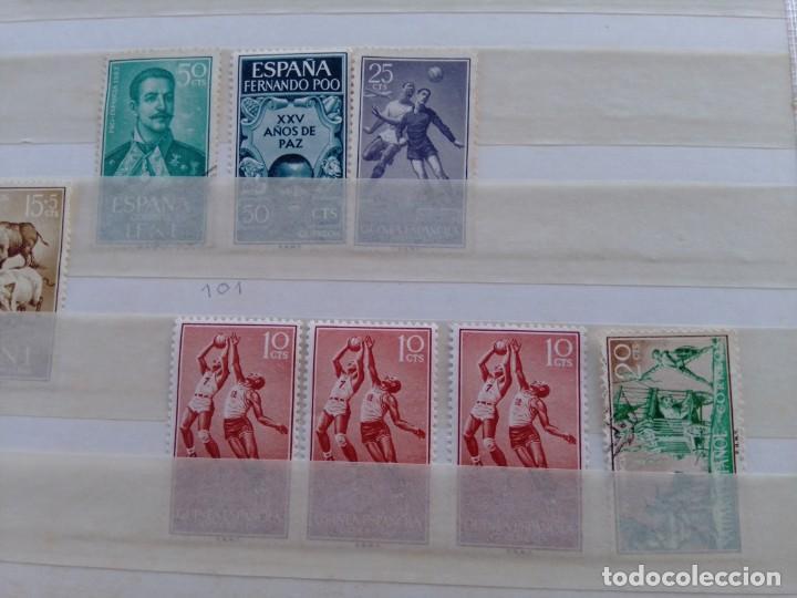 Sellos: Lote 57 sellos España y colonias en África y América - Foto 4 - 209876750