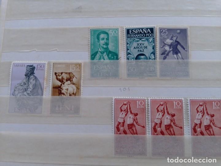 Sellos: Lote 57 sellos España y colonias en África y América - Foto 5 - 209876750