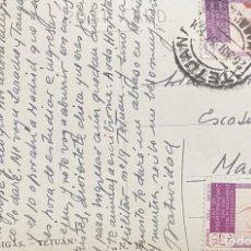 Sellos: MARRUECOS, TARJETA POSTAL CIRCULADA EN EL AÑO1956. Lote 210273940