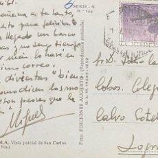 Sellos: MARRUECOS, TARJETA POSTAL CIRCULADA EN EL AÑO 1961. Lote 210274302