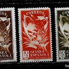 Sellos: GUINEA ESPAÑOLA - DIA DEL SELLO 1951 - EDIFIL 306 -308- NUEVOS.. Lote 210282917