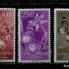 Sellos: GUINEA ESPAÑOLA - DIA DEL SELLO 1958 - EDIFIL 388-390 - NUEVOS.. Lote 210285336