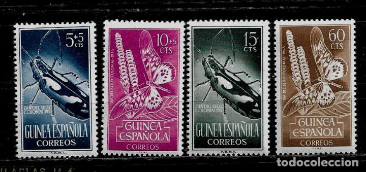 GUINEA ESPAÑOLA - DIA DEL SELLO - EDIFIL 330-333 - 1953 NUEVOS. (Sellos - España - Colonias Españolas y Dependencias - África - Guinea)