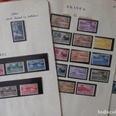 Sellos: ESPAÑA - PRIMER CENTENARIO - COLONIAS - GUINEA - 1950-1959 -.. Lote 210552185