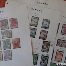 Sellos: ESPAÑA - PRIMER CENTENARIO - COLONIAS - SAHARA 1926-1943 -Y- 1950-1975 -.. Lote 210553291