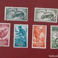 Sellos: SELLOS RIO MUNI EDIFIL 45 AL 47 NUEVOS CON FIJASELLOS. Lote 210587521