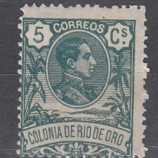 Sellos: RIO DE ORO. EDIFIL 43 NUEVO CON FIJASELLOS.. Lote 244971585