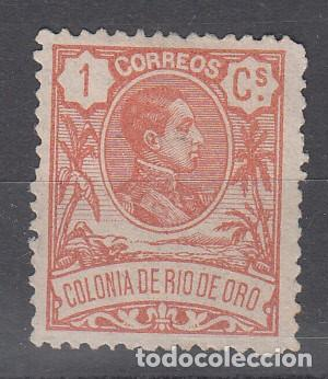 RIO DE ORO. EDIFIL 41 NUEVO CON FIJASELLOS. (Sellos - España - Colonias Españolas y Dependencias - África - Río de Oro)