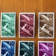 Sellos: IFNI-SERIE BASICA-1953-NUEVOS*. Lote 212497771