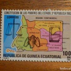 Sellos: GUINEA ECUATORIAL - FMNT - EDIFIL 52 - 100 BK 1984 - FAUNA - REGIÓN CONTINENTAL - NUEVO **. Lote 277419313