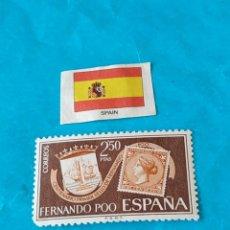 Sellos: ESPAÑA FERNANDO POO B. Lote 213085808
