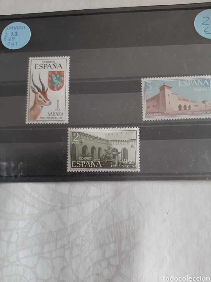 SAHARA ESPAÑOLA 288 289 281 NUEVO FAUNA ARQUITECTURA MONUMENTAL (Sellos - España - Colonias Españolas y Dependencias - África - Sahara)