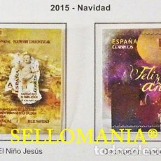 Sellos: 2015 NAVIDAD BELEN NAPOLITANO SANTO DOMINGO EDIFIL 5008 / 09 ** MNH TC20521. Lote 289303833