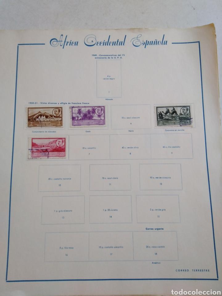 Sellos: Colección de sellos de correo ( 88 sellos en total trae el álbum ) - Foto 4 - 214555237