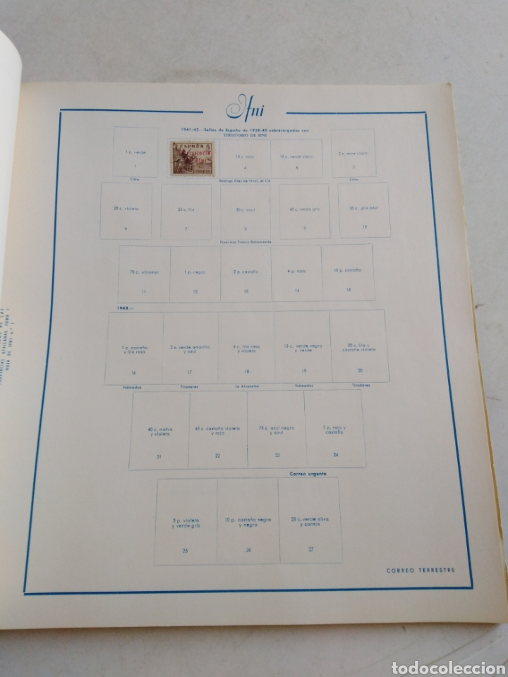 Sellos: Colección de sellos de correo ( 88 sellos en total trae el álbum ) - Foto 15 - 214555237