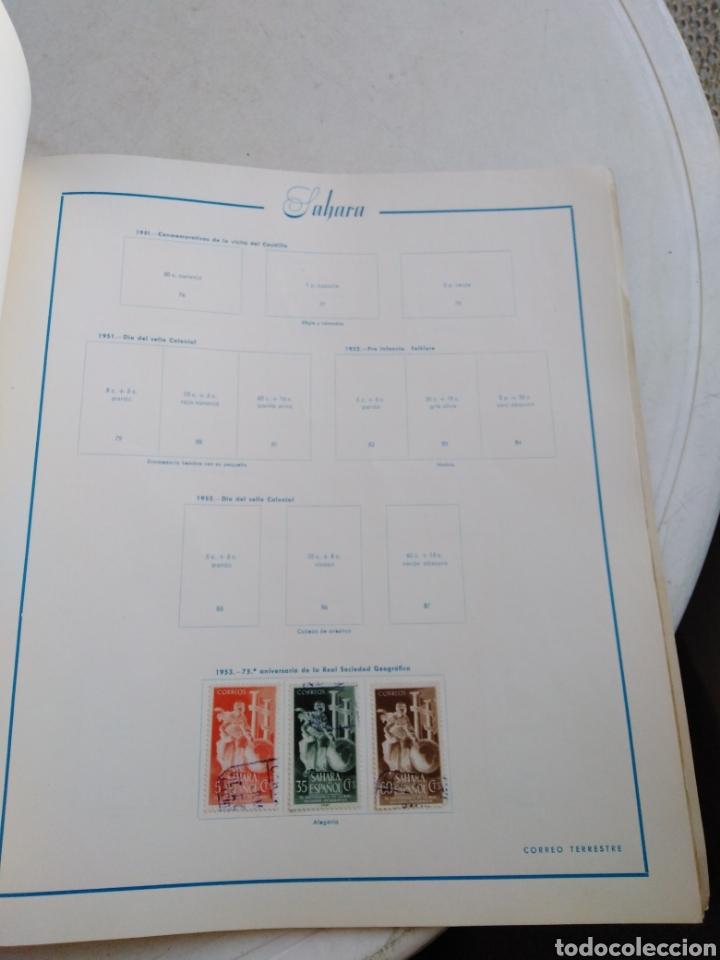 Sellos: Colección de sellos de correo ( 88 sellos en total trae el álbum ) - Foto 19 - 214555237