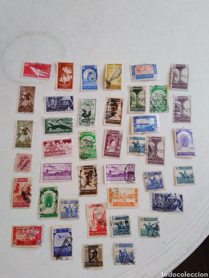 Sellos: Colección de sellos de correo ( 88 sellos en total trae el álbum ) - Foto 21 - 214555237