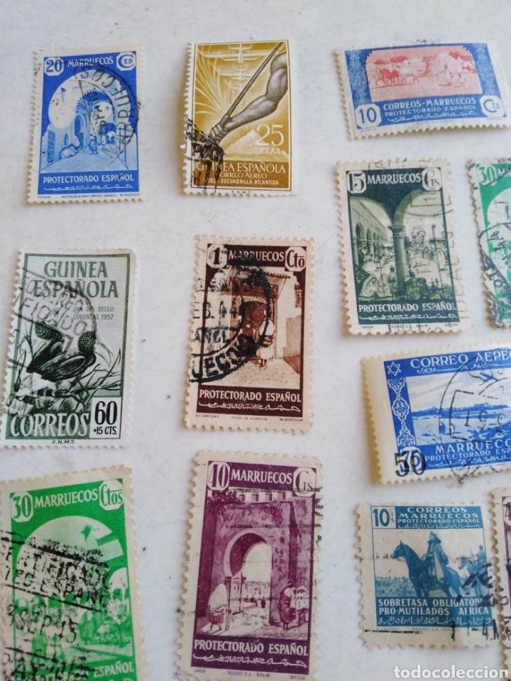 Sellos: Colección de sellos de correo ( 88 sellos en total trae el álbum ) - Foto 23 - 214555237