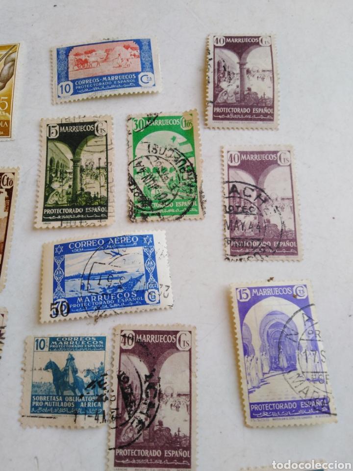 Sellos: Colección de sellos de correo ( 88 sellos en total trae el álbum ) - Foto 24 - 214555237