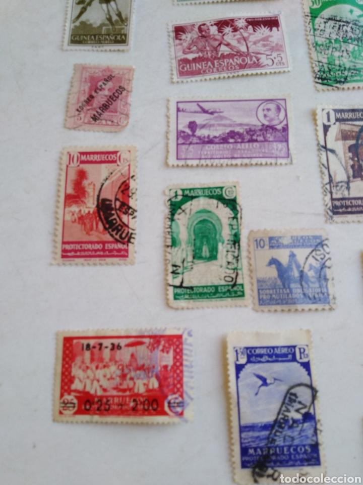 Sellos: Colección de sellos de correo ( 88 sellos en total trae el álbum ) - Foto 25 - 214555237