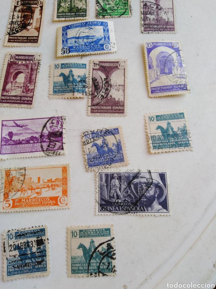 Sellos: Colección de sellos de correo ( 88 sellos en total trae el álbum ) - Foto 27 - 214555237