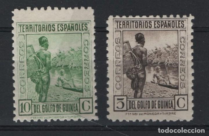TV_001.G15/ GUINEA, EDIFIL 246/7 MNH** (Sellos - España - Colonias Españolas y Dependencias - África - Guinea)
