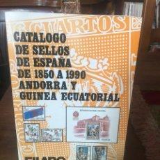 Sellos: CATALOGO DE SELLOS DE ESPAÑA. Lote 215558502