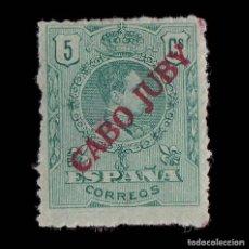 Sellos: CABO JUBY. 1919.SELLOS ESPAÑA.1876-1902-22. 5C.NUEVO* EDIFIL 7.. Lote 215820908