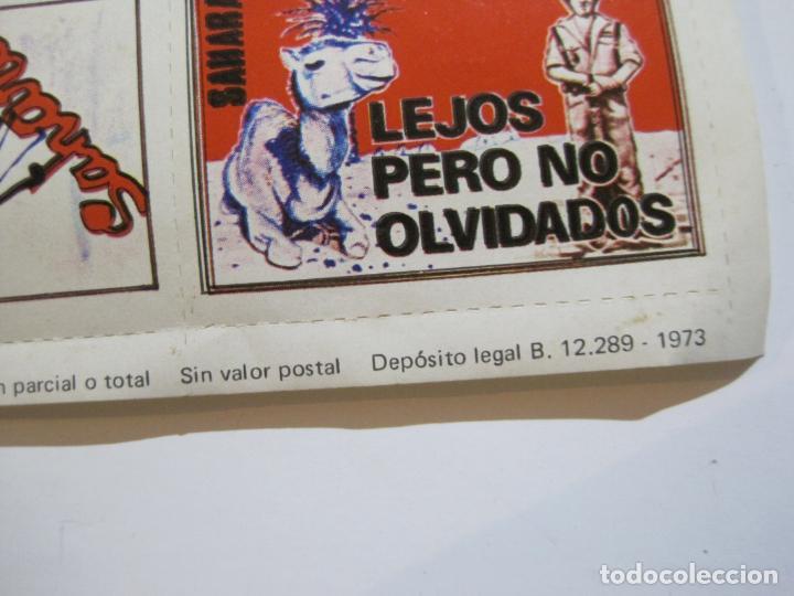 Sellos: LAMINA CON 30 VIÑETAS DEL SAHARA ESPAÑOL-AÑO 1973-VER FOTOS-(V-22.109) - Foto 5 - 215961473