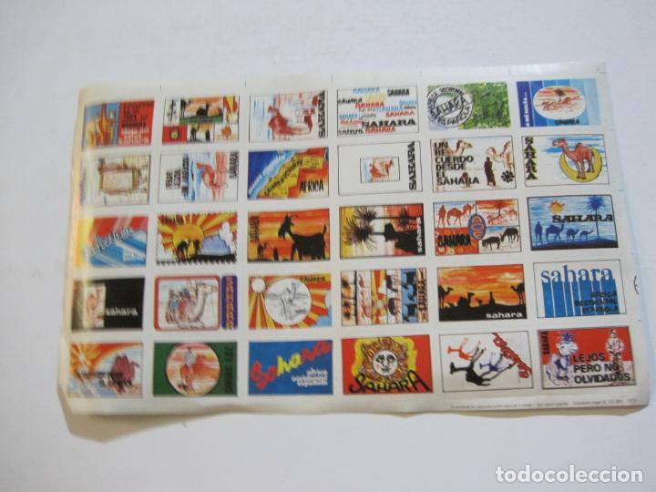 LAMINA CON 30 VIÑETAS DEL SAHARA ESPAÑOL-AÑO 1973-VER FOTOS-(V-22.109) (Sellos - España - Colonias Españolas y Dependencias - África - Sahara)