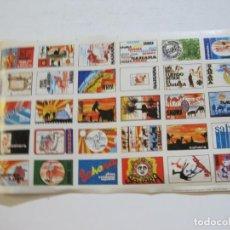 Sellos: LAMINA CON 30 VIÑETAS DEL SAHARA ESPAÑOL-AÑO 1973-VER FOTOS-(V-22.109). Lote 215961473