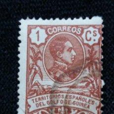 Sellos: ESPAÑA COLONIAS, GOLFO D GUINEA, 1 CT, ALFONSO XIII,1920.. Lote 216909545