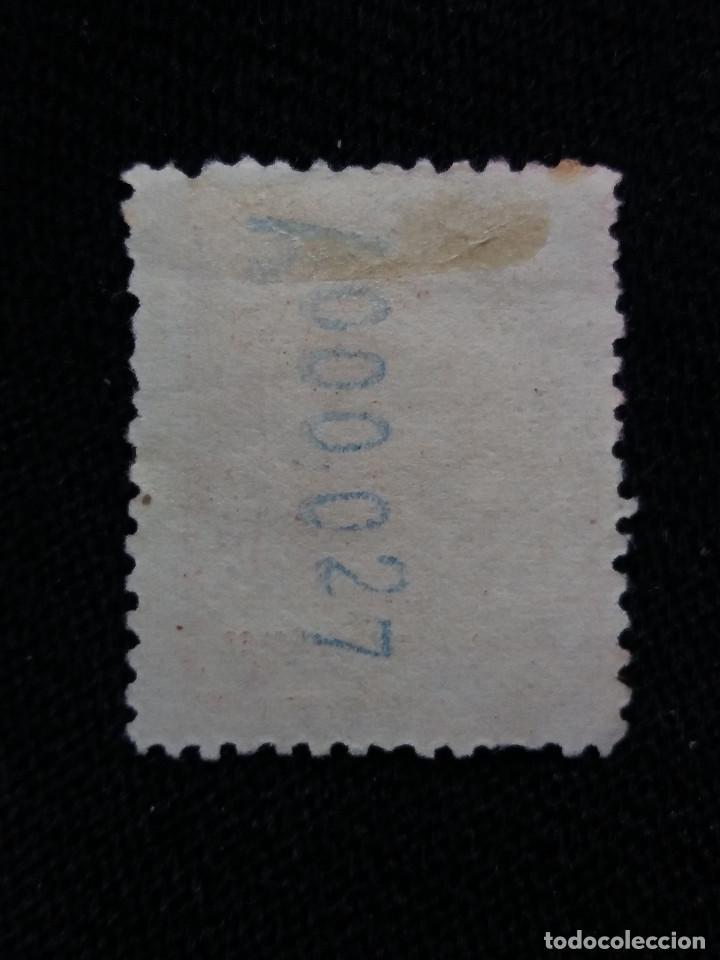 Sellos: ESPAÑA COLONIAS, GOLFO D GUINEA, 10 CT, ALFONSO XIII,1912. - Foto 2 - 216910796
