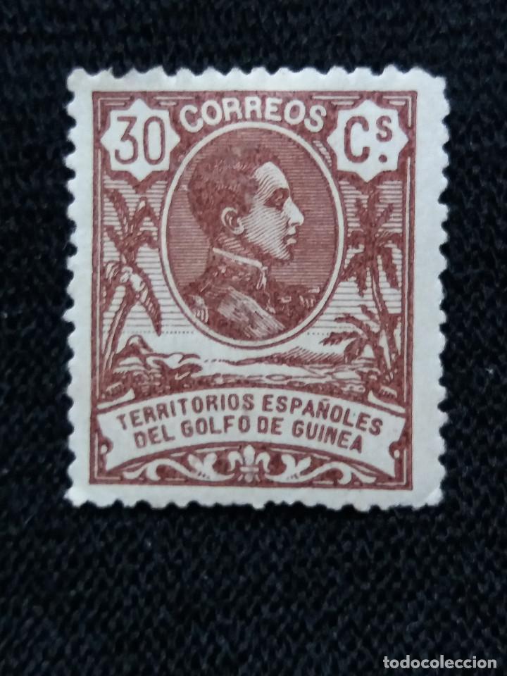 ESPAÑA COLONIAS, GOLFO D GUINEA, 30 CTS, ALFONSO XIII,1909. (Sellos - España - Colonias Españolas y Dependencias - África - Guinea)