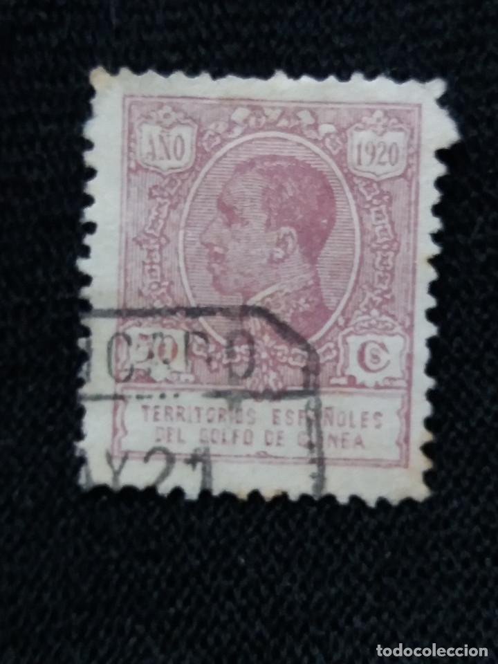 ESPAÑA COLONIAS, GOLFO D GUINEA, 50 CTS, ALFONSO XIII,1920. (Sellos - España - Colonias Españolas y Dependencias - África - Guinea)