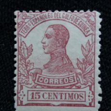 Sellos: ESPAÑA COLONIAS, GOLFO D GUINEA, 15 CTS, ALFONSO XIII,1912.. Lote 216914192