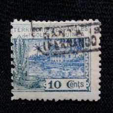 Sellos: ESPAÑA COLONIAS, GOLFO D GUINEA, 10 CTS, ALFONSO XIII,1925.. Lote 216914902