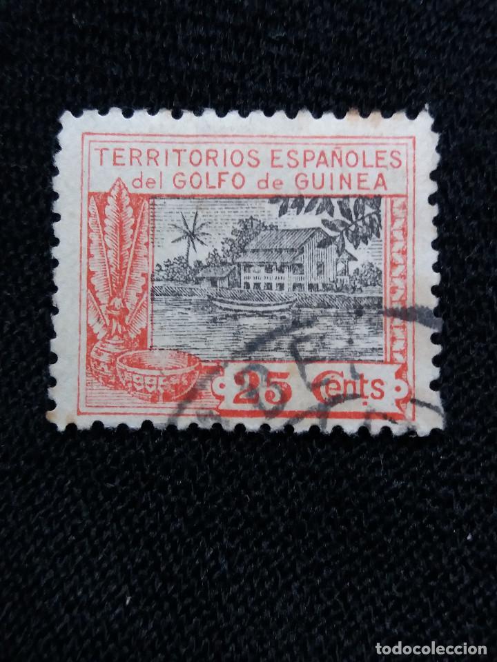 ESPAÑA COLONIAS, GOLFO D GUINEA, 25 CTS, ALFONSO XIII,1925. (Sellos - España - Colonias Españolas y Dependencias - África - Guinea)