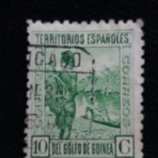 Sellos: ESPAÑA COLONIAS, GOLFO D GUINEA, 10 CTS, AÑO,193.. Lote 216916320