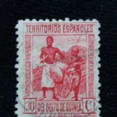 Sellos: ESPAÑA COLONIAS, GOLFO D GUINEA, 30 CTS, AÑO,1931.. Lote 216916478