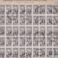 Sellos: ESPAÑA ( TÁNGER - MARRUECOS) .AÑO 1946 .BENEFICENCIA. 100 SERIES COMPLETAS.. Lote 217540178