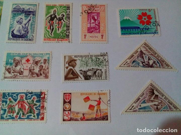 SELLOS DE LA REPUBLICA DAHOMEY (Sellos - España - Colonias Españolas y Dependencias - África - Otros)