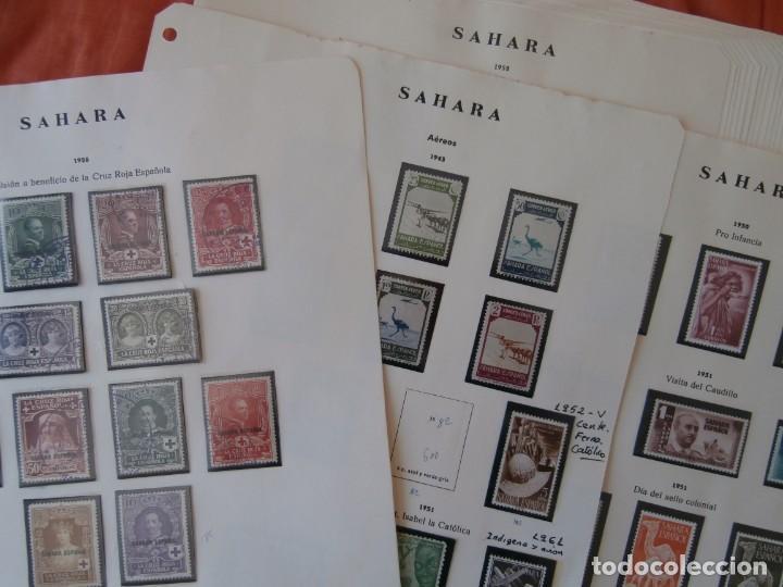 ESPAÑA - PRIMER CENTENARIO - COLONIAS - SAHARA 1926-1943 -Y- 1950-1975 -. (Sellos - España - Colonias Españolas y Dependencias - África - Sahara)