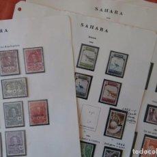Sellos: ESPAÑA - PRIMER CENTENARIO - COLONIAS - SAHARA 1926-1943 -Y- 1950-1975 -.. Lote 219163681