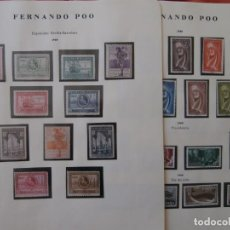 Sellos: ESPAÑA - PRIMER CENTENARIO - COLONIAS - FERNANDO POO - 1929 - Y -1960-1968 -.. Lote 219164543