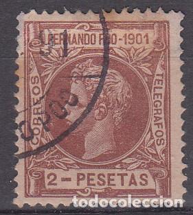 FERNANDO POO - NUM.105 USADO (Sellos - España - Colonias Españolas y Dependencias - África - Fernando Poo)