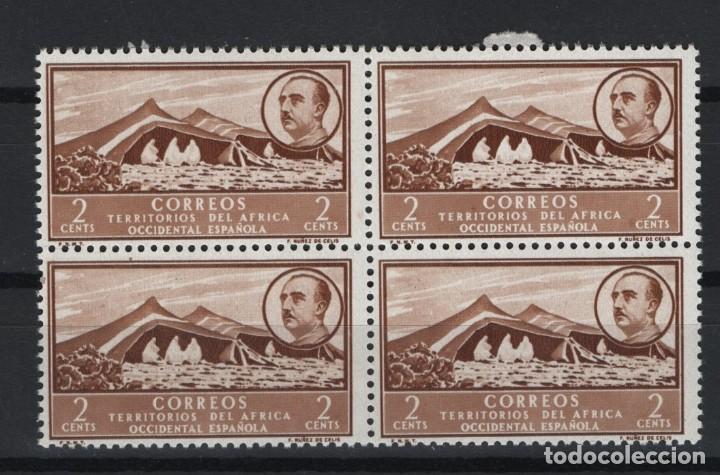 VERDE_51/ AFRICA OCIDENTAL, GENERAL FRANCO, EN NUEVO ** (Sellos - España - Colonias Españolas y Dependencias - África - África Occidental)