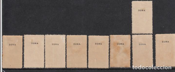 Sellos: MARRUECOS 1940 NUMS . 200-216 NUEVOS CON SEÑAL DE FIJASELLOS - Foto 3 - 221381096