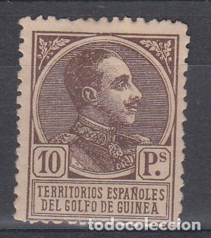 1919 GUINEA ESPAÑOLA NUM 140 NUEVO CON FIJASELLOS (Sellos - España - Colonias Españolas y Dependencias - África - Guinea)