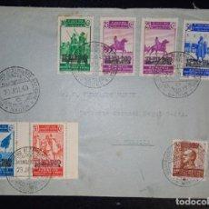 Sellos: 1940.- NADOR (MARRUECOS) A MELILLA.. Lote 221650578
